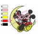 Mickey Mouse Cartoon Embroidery 89